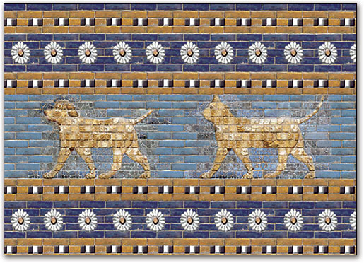 ancient-babylon-dogs-walking
