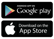 Google Play and App Store Download Buttons
