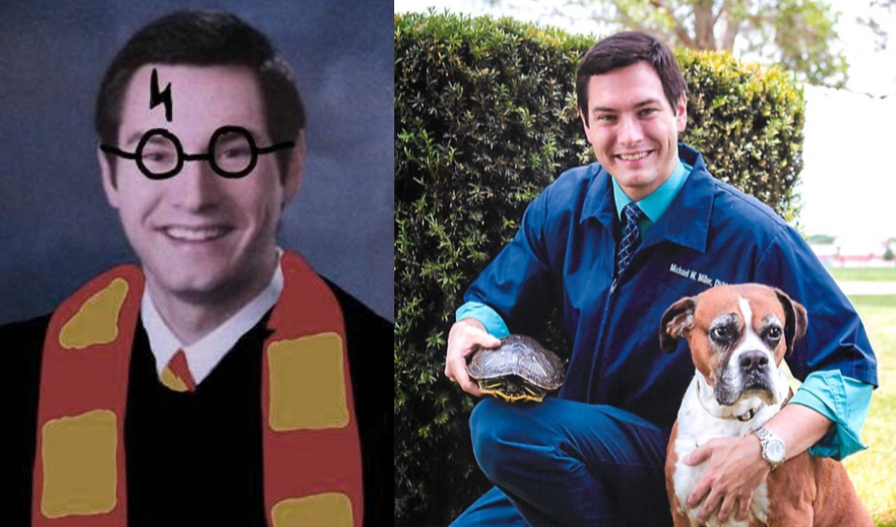 Pawsome Stories: Meet Dr. Michael Miller, @HarryPotterVet